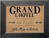 Grand l'Hotel Poster