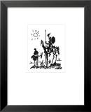 Don Quichotte Posters par Pablo Picasso