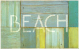 Beach Sign Art by  Z Studio