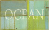 Ocean Sign Posters by  Z Studio