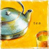 Grüner Tee Kunstdrucke von Lauren Hamilton