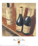 Vino, Vino, Vino I Prints by Len Abbott