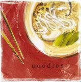 Soba Noodles Posters by Lauren Hamilton