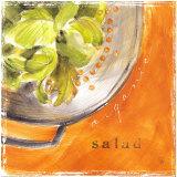 Organic Salad Posters by Lauren Hamilton