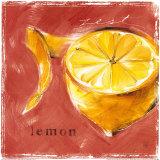 Lemon Zest Print by Lauren Hamilton