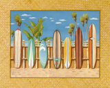 Surf Boards Posters by Evelyn Jenkins-Drew