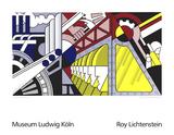 Roy Lichtenstein - Study for Preparedness, 1968 - Serigrafi