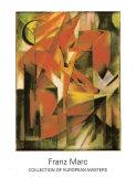 Die Fuchse, 1913 Affiches par Franz Marc