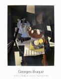 Natura morta con compostiera Poster di Georges Braque