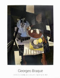 Nature Morte Au Compotier Posters by Georges Braque