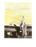 Dame a L'Absence Plakat av Yves Tanguy
