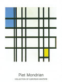 Rhytmus Prints by Piet Mondrian
