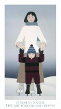The Lincoln Center, 1995 Serigraph by Will Barnet