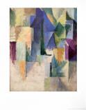 Fensterbild 1912-13 Kunst af Robert Delaunay