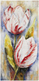 White tulips Art by Rian Withaar