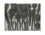 Coleman-Groupe de jazz Affiches par Jean Dubuffet