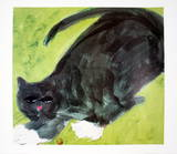 Evening Cat Prints by Walasse Ting