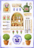Garden Tools Prints by G.p. Mepas