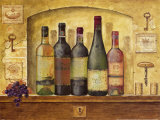 Wine Gathering I Art by G.p. Mepas