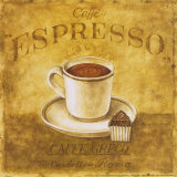 Caffe Expresso Posters by Herve Libaud