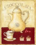 Chocolat chaud et petits gâteaux Affiches par G.p. Mepas