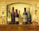Wine Gathering IV Prints by G.p. Mepas