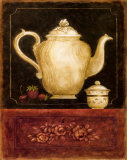 Time for Tea and Berries I Print by Herve Libaud