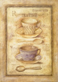 Tea Cups and Spoons Prints by Herve Libaud