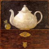 Tea Pot Art by Eric Barjot