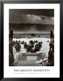 The Greatest Generation D-Day Landing Omaha Beach June 6, 1944 Posters by Robert F. Sargent
