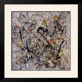 Número 18, 1950 Poster por Jackson Pollock