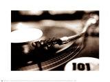 DJ Posters by Maggie Heinzel-Neel