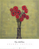 Grande Poppies Prints by Elya de Chino