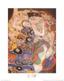 乙女(処女) 1913年 ポスター : グスタフ・クリムト