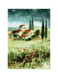 Toscane IV Affiches par Franz Heigl