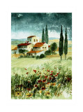 Toscane IV Print by Franz Heigl