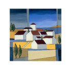 Village Near The Sea II Affischer av Hans Paus