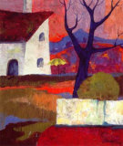 Colorful Landscape III Art