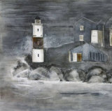 Lighthouse I Print by Beate Emanuel