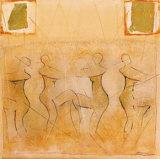 The Dance I Poster by Jan Eelse Noordhuis