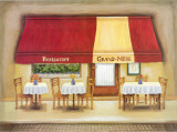 Restaurant Grand-Mere Prints by Urpina 