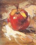 Pomme Rouge Affiches par Pascal Cessou