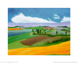 Summer in Provence I Posters by L. Vallet