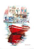 Porto Mediterranio IV Prints by Daniela Lecchi