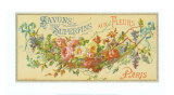 Savon Aux Fleurs Prints