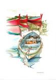 Porto Mediterranio II Prints by Daniela Lecchi