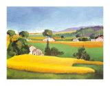 Summer in Provence IV Kunstdrucke von L. Vallet