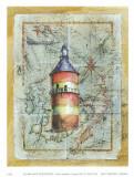 Leuchtturm I Kunstdrucke von A. Vega
