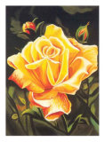 The Golden Flower Prints by N. Fiore