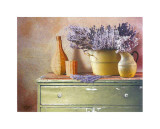 Flowers on Gramma's Sideboard IV Prints by M. De Flaviis